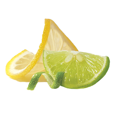 zesty lemon lime
