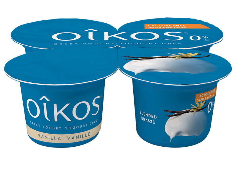 Greek Yogurt Oikos Lactose Free Vanilla